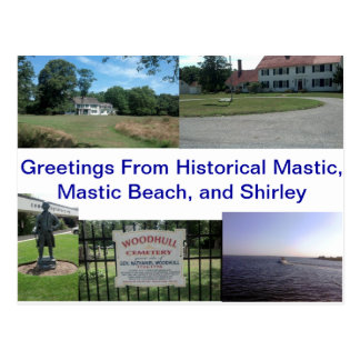 Historical Mastic, Mastic Beach, and Shirley Postcard