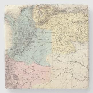 Historical Military Maps of Venezuela Stone Beverage Coaster