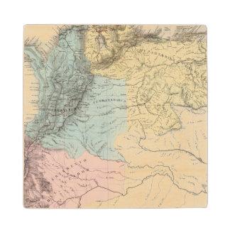 Historical Military Maps of Venezuela Maple Wood Coaster