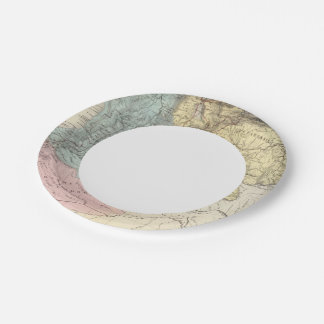Historical Military Maps of Venezuela Paper Plate