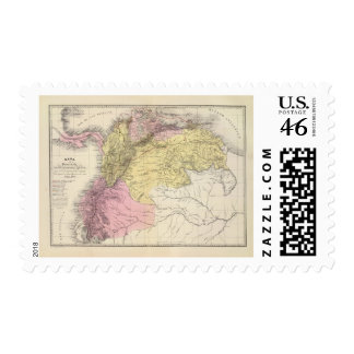 Historical Military Maps of Venezuela Postage Stamps