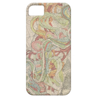 Historical Mississippi River Map iPhone SE/5/5s Case