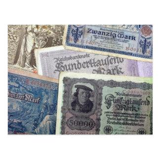 Historical Money Postcard