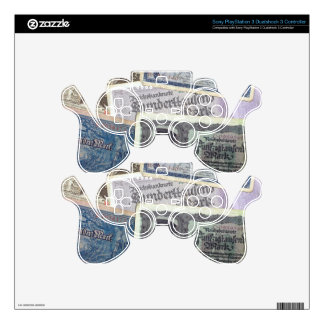 Historical Money PS3 Controller Decal