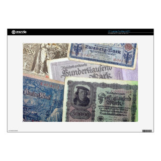 Historical Money Decal For Laptop