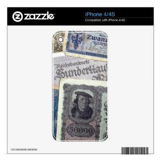 Historical Money Skins For iPhone 4S