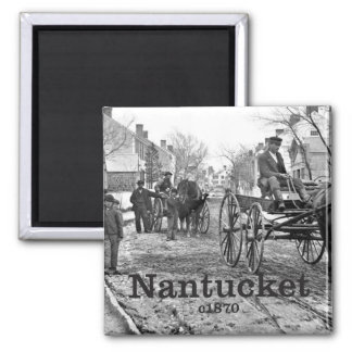 Historical Nantucket Photo Souvenir Magnet