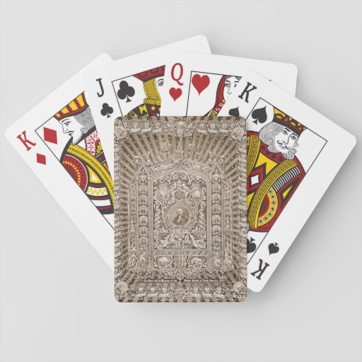 Historical National Masterpiece 1876 Poker Deck