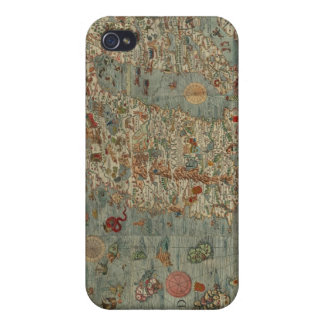 Historical Northern Europe Map Cover For iPhone 4