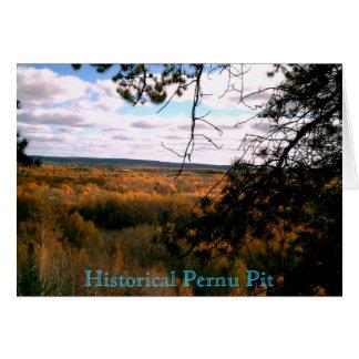 Historical Pernu Pit Card