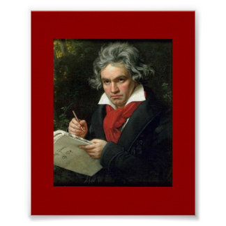 Historical Poster Beethoven