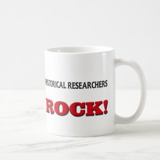 Historical Researchers Rock Classic White Coffee Mug