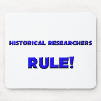 Historical Researchers Rule! Mouse Pads