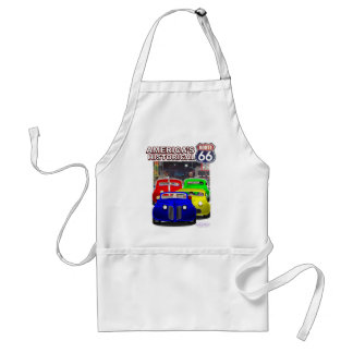 HISTORICAL ROUTE 66 ADULT APRON