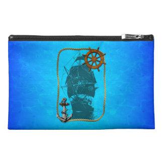 Historical Sailing Ship Travel Accessory Bag