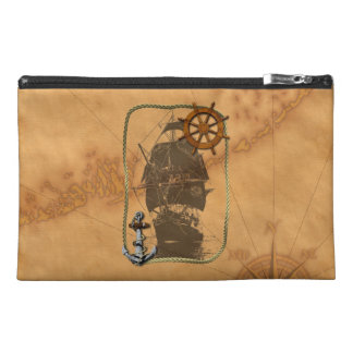 Historical Sailing Ship Travel Accessory Bags