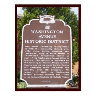 Historical Sign Postcard
