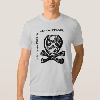 Historical Stamp Act Satire Shirt