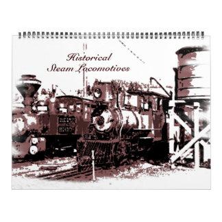 Historical Steam Locomotives Calendar