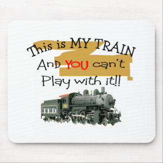 Historical Train Gifts--Hilarious sayings Mouse Pad