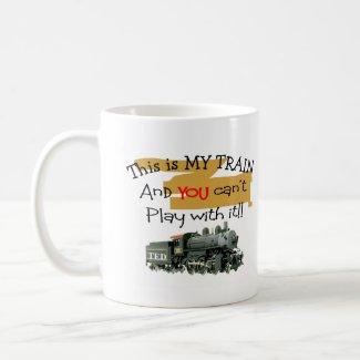 Historical Train Gifts--Hilarious sayings mug