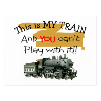 Historical Train Gifts--Hilarious sayings Postcard