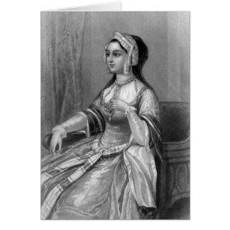 Historical Women - Anne Boleyn Greeting Card