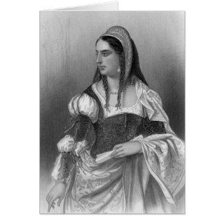 Historical Women - Isabella I of Castile Greeting Card