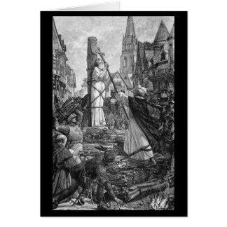 Historical Women - Joan of Arc Card