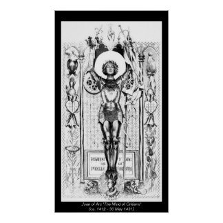 Historical Women - Joan of Arc Posters