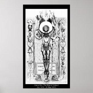 Historical Women - Joan of Arc Poster
