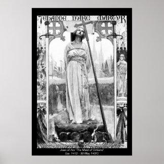 Historical Women - Joan of Arc Print