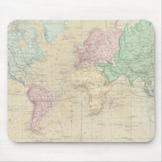 Historical World Map 2 Mouse Pad