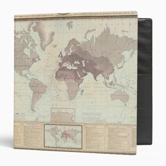 Historical World Map Binder
