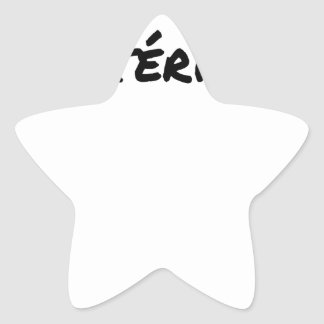 HISTORICALLY HYSTERICAL - Word games Star Sticker
