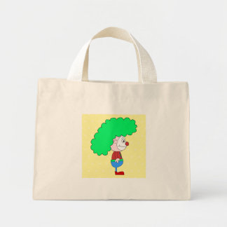 Historieta colorida del payaso bolsa