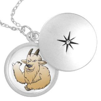 Historieta de la cabra de montaña medallones