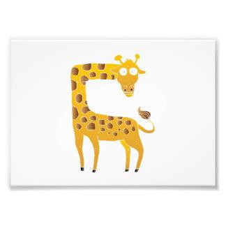 historieta de la jirafa cojinete