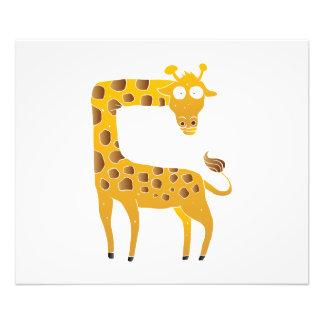 historieta de la jirafa fotografía