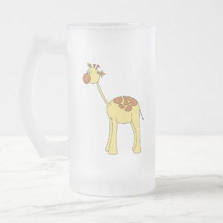 Historieta de la jirafa tazas de café