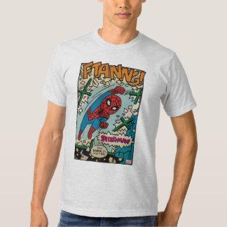 Historieta de Spider-Man del estallido Poleras