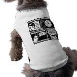Historieta del infierno de la reescritura camisa de perrito