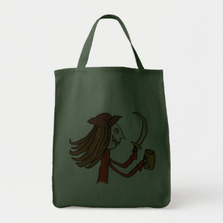 Historieta del pirata bolsa de mano