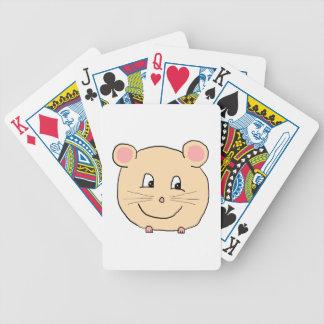 Historieta del ratón baraja cartas de poker