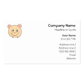 Historieta del ratón plantillas de tarjetas personales
