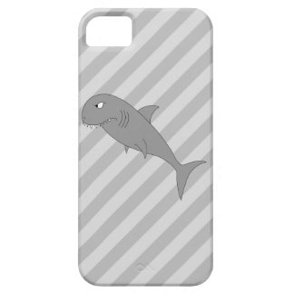Historieta del tiburón iPhone 5 protectores