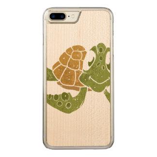 Historieta linda de la tortuga funda para iPhone 7
