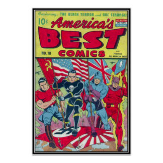 Historietas del vintage - poster