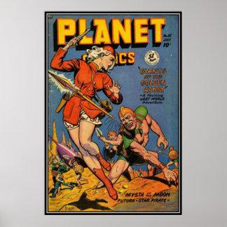 Historietas del vintage - posters