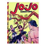 Historietas del vintage - tarjetas postales